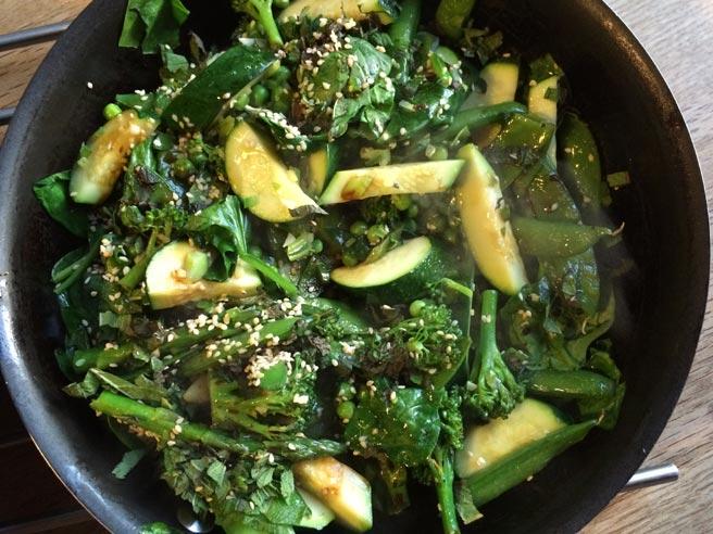 Summer veg stir fry